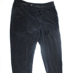 Vince Loose Jogger Pants 100% Silk Charmeuse Ankle